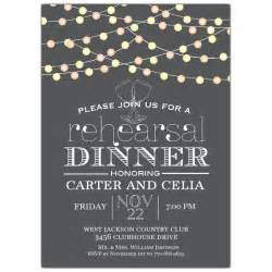 rehearsal dinner invitation lights rehearsal dinner invitation paperstyle