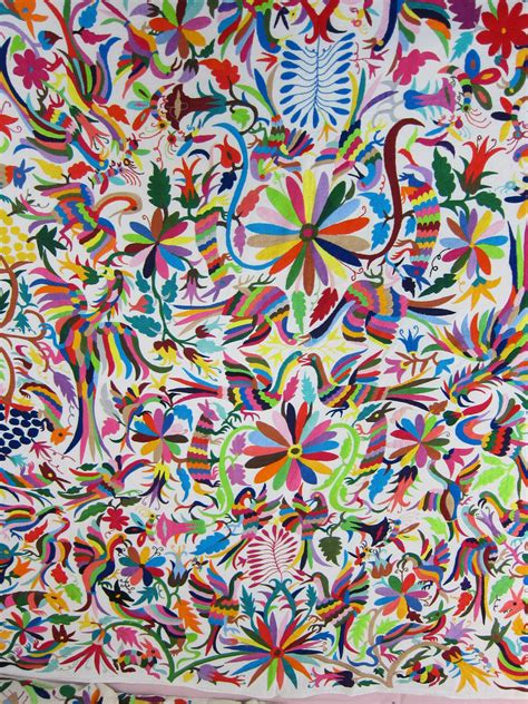 mexikanische muster mexican patterns otomi fabric and textiles for home deco