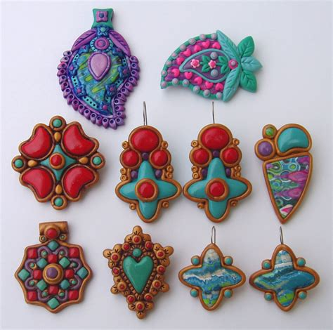 how to make jewelry with polymer clay polymer clay jewelry flickr photo