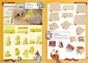 haus falten papierhaus basteln basteln gestalten