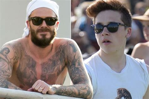 tattoo brooklyn beckham brooklyn beckham planning to follow dad david with real