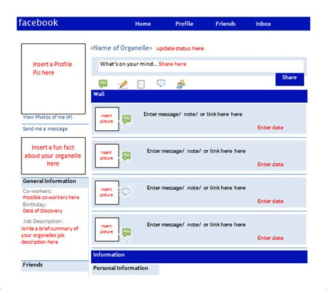 35 free facebook template in psd word ptt and pfd format