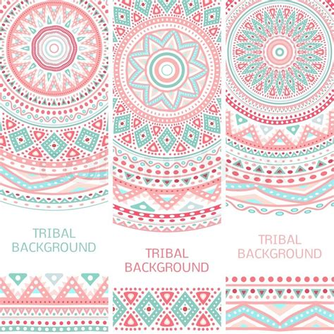 what is melissa marcos ethnic background tribal ethnic vintage banners vector illustration for