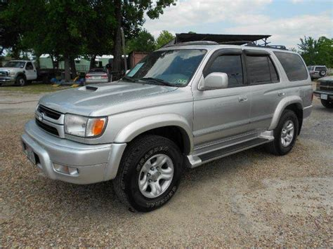 2001 Toyota 4runner Sr5 2001 Toyota 4runner Sr5 2wd 4dr Suv In Houston Humble
