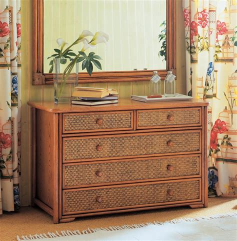 Commode En Rotin by Commode Rotin 1986