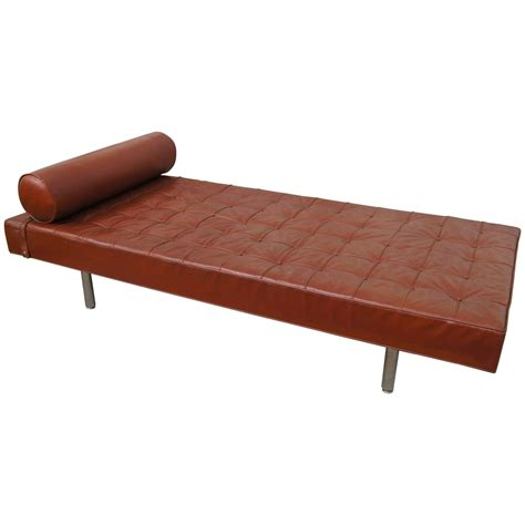 leather day bed modern leather daybed at 1stdibs