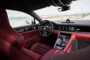 Porsche Panamera Interior 2018 Porsche Panamera 4 E Hybrid Interior Motor Trend