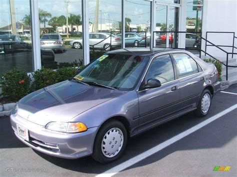 grey honda 1995 phantom gray pearl honda civic lx sedan 440953 photo