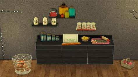 clutter sims 4 cc decor clutter your kitchen at leo sims sims 4 updates ts4 cc