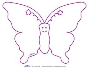 7 best images of large butterfly template printable