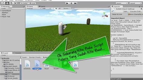 Membuat Game Fps Dengan Unity | cara membuat game fps dengan unity 3d 007 membuat script
