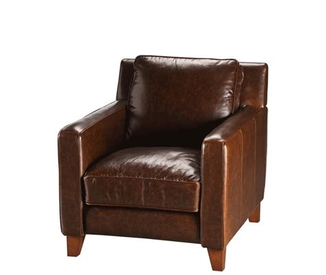 urban barn recliner preston leather arm chair living room pinterest