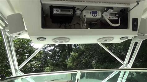 boat top speakers how to install bazooka marine speakers in your boat