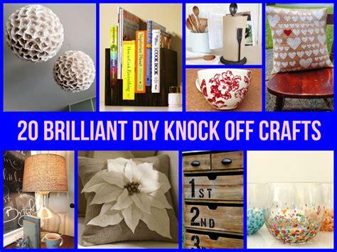 what is diy 20 brilliant diy knock off crafts