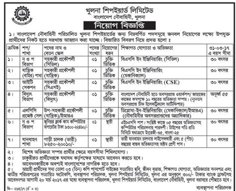 Khulna Mba Admission by খ লন শ পইয র ড ল ম ট ড প রত দ ন র চ কর র খবরপ রত দ ন র