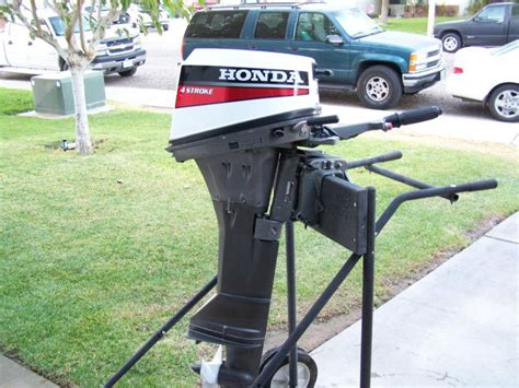 Used Suzuki Outboard Parts For Sale Sell 1991 Honda 4 Stroke Outboard Boat Motor 8 Hp