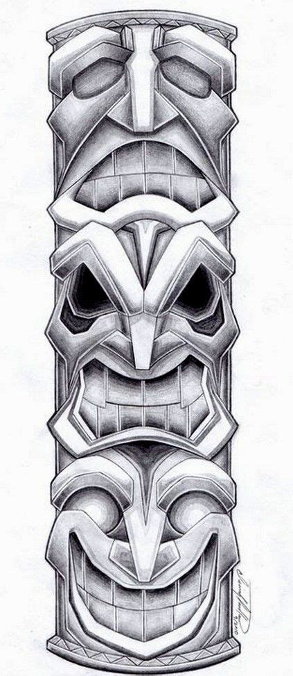 totem tattoo designs totem pole design by spiderlaw deviantart on