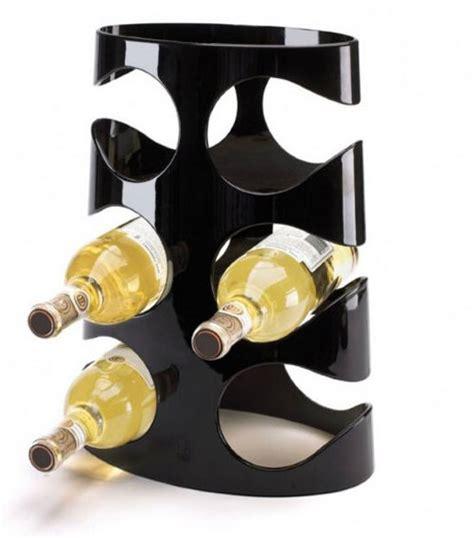 Black Wine Racks by Umbra Grapevine Wine Rack 6 Bottles Black Wine Racks