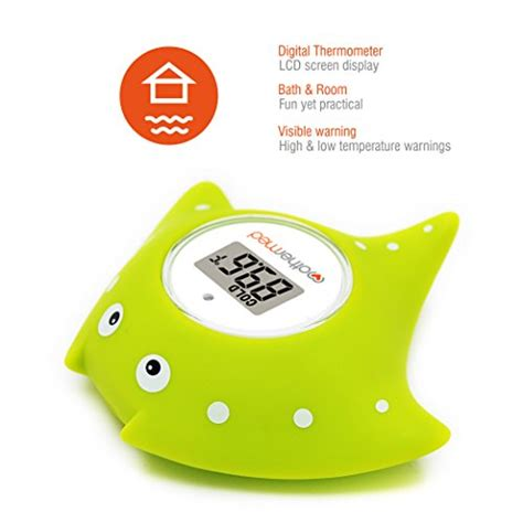 bathtub thermometer floating mothermed baby bath thermometer and floating bath toy