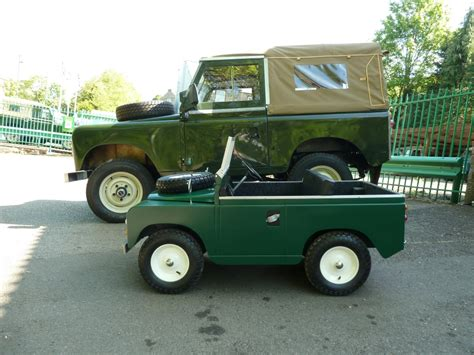 land rover kid child s land rover an eventful life