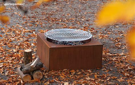 feuerstelle quadratisch feuerstellen und grillstellen