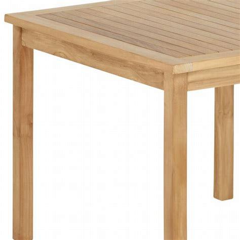 tisch quadratisch 80x80 bestseller shop f 252 r m 246 bel und - Qualität Teak Gartenmöbel