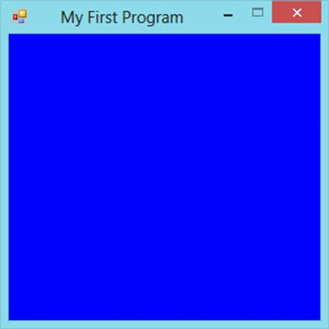 adsense user first program visual basic 2013 lesson 2 building the user interface