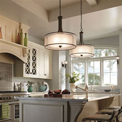 lighting in kitchens ideas kichler lacey 42385miz kitchen lights kitchen lighting