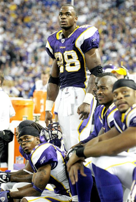 adrian peterson bench peterson benching gets closer to reality vikings gab