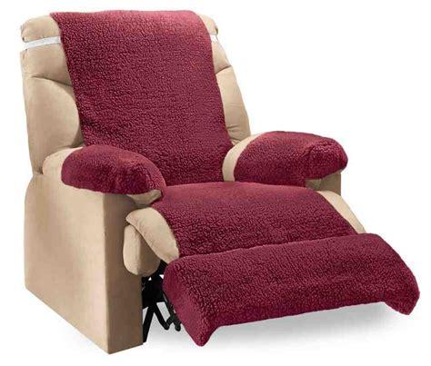 wool fleece recliner covers fleece recliner cover home furniture design