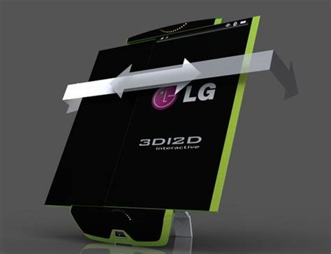 lg 3d mobile phone lg 3d mobile phone with photovoltaic cells and expandable
