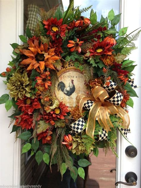 fall country decor fall autumn thanksgiving rustic rooster country decor 32 quot l
