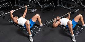 bench press floor weight training exercises 4 you