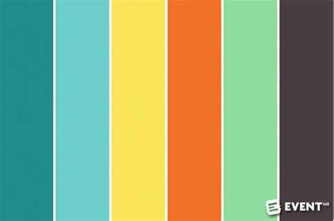 5 Rules for an Event Design Color Palette