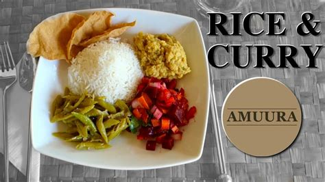 Madu S Max sri lankan rice curry by amuura recipe