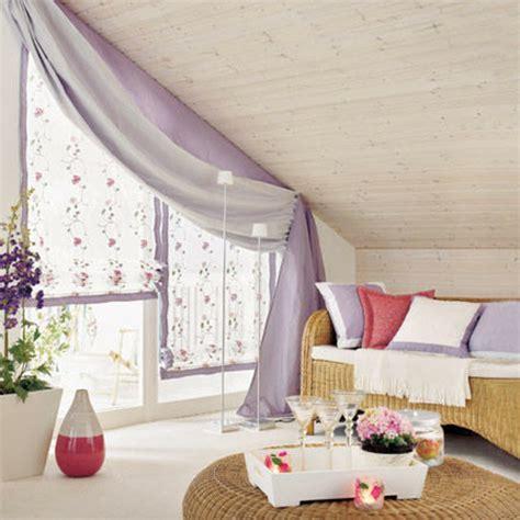 fenster mit gardinen 1001 ideen f 252 r dachfenster gardinen und vorh 228 nge