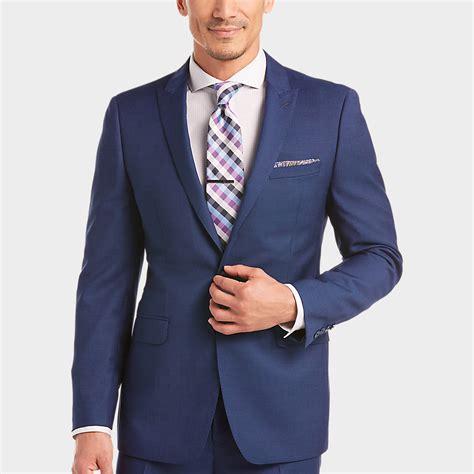 menswear house slim fit suits blue dress yy