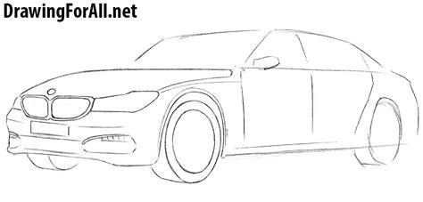 how to draw a jaguar car drawingforall net how to draw a bmw drawingforall net