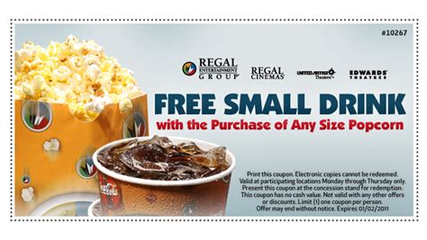 Cinemas Printable Coupons cuppycake s coupon corner regal printable coupon