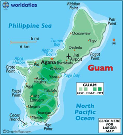 map of guam guam map geography of guam map of guam worldatlas