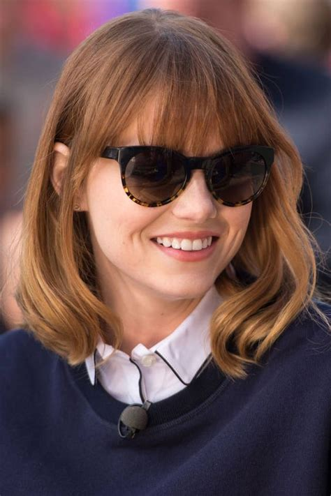 emma stone glasses exclusive emma stone gets a special thank you bobs