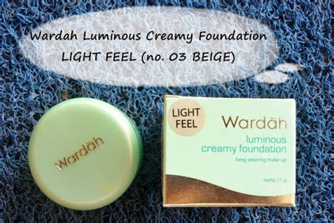 Wardah Foundation Light Feel topic review 28 wardah luminous foundation light feel 03 beige