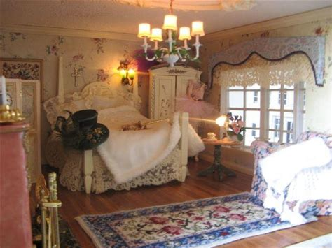 dollhouse bedroom doll houses pinterest