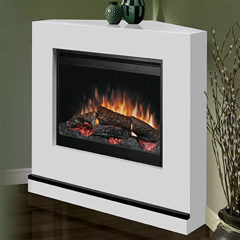 Fireplace Canada Milan White Wall Or Corner Electric Fireplace Bspc 26