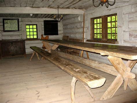 a trestle table trestle table