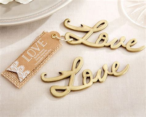 Wedding Favors Unlimited Reviews by Antique Gold Bottle Opener