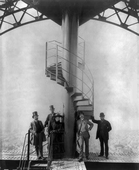 gustave eiffel apartment eiffel tower file gustave eiffel and four other people at the summit of