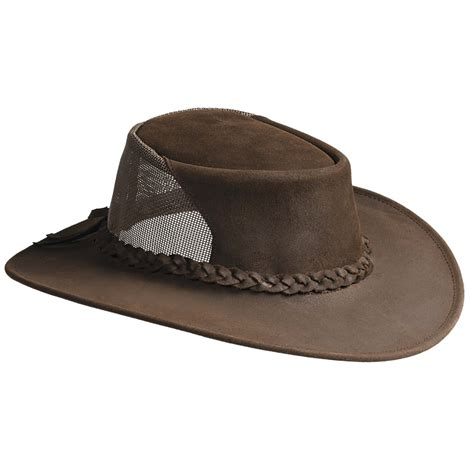 kakadu brimstone leather hat for and