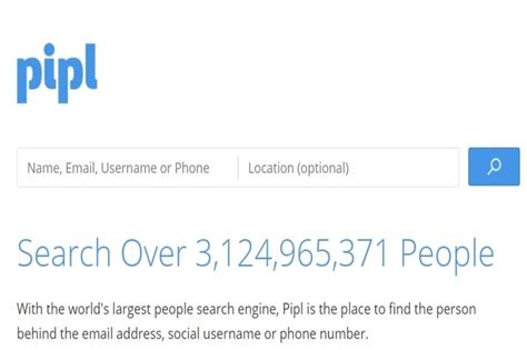Pipl Web Search Top 10 Web Search Engines Of 2018