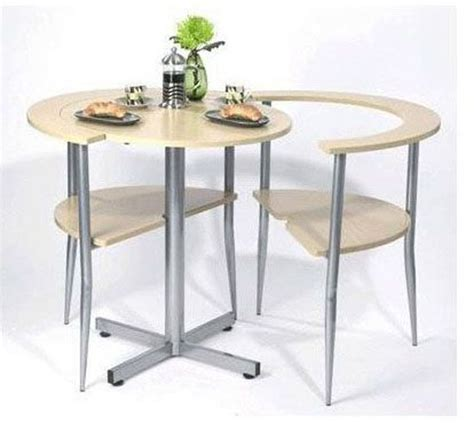 breakfast table in brown set simple to assembly for
